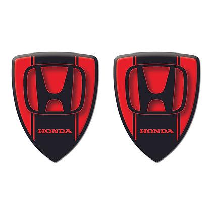 Honda Red Shield x2pcs s.n: H0771