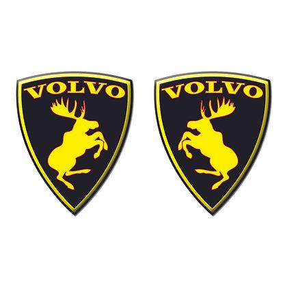 Volvo Black Yellow moose x2pcs s.n: V0641