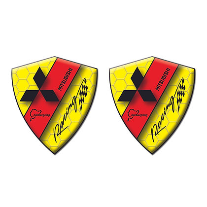Mitsubishi Yellow Diamond x2pcs s.n: T0077