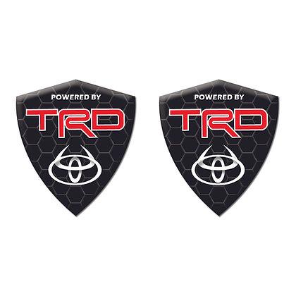 Toyota TRD Black Diamond x2pcs s.n:T7053