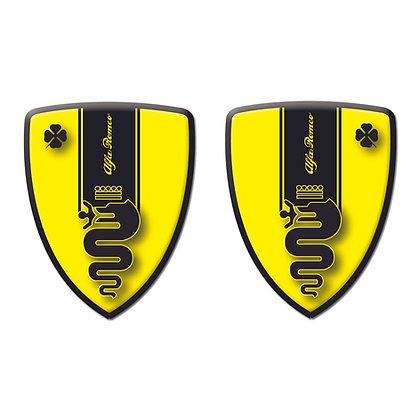 Alfa Romeo Yellow Snacke x2pcs s.n: A0005