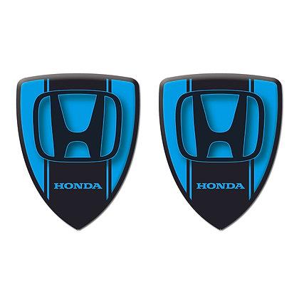 Honda Blue Shield x2pcs s.n: H0772