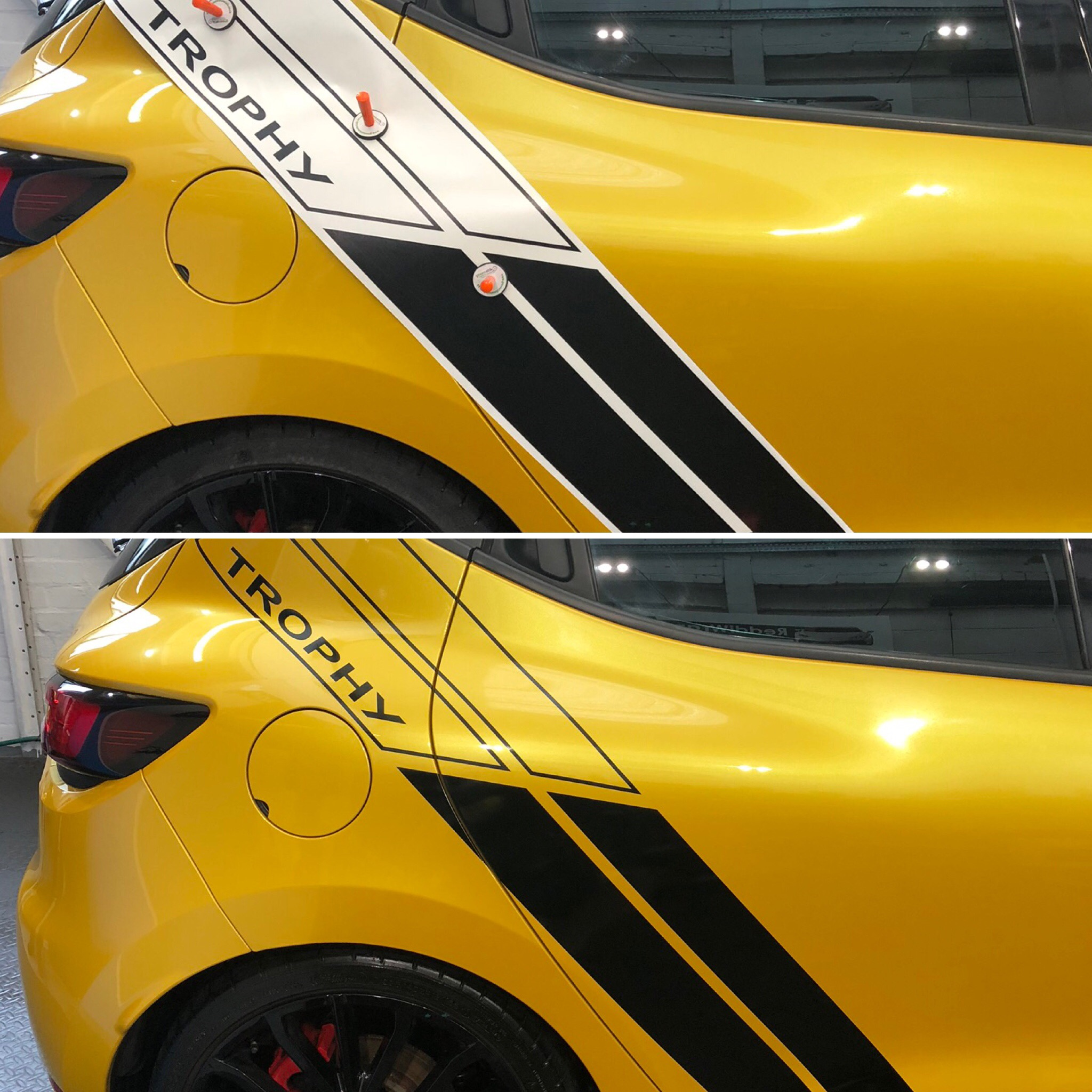 Clio Trophy Decals