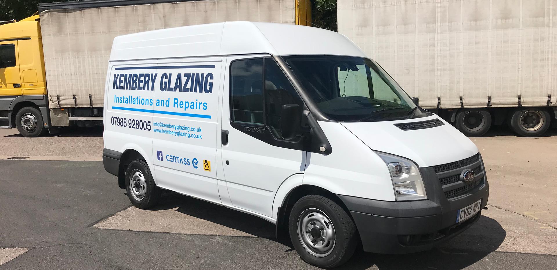 Glazing Van