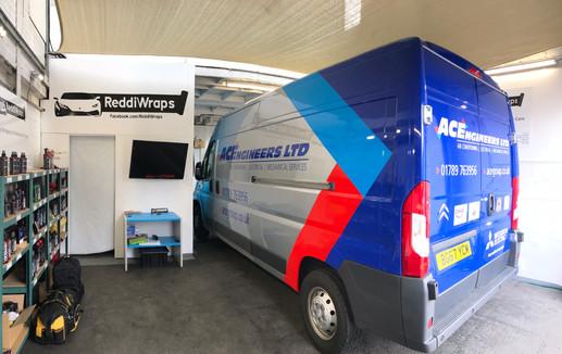 ACE Engineering Van