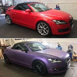 Audi TT Colour Change