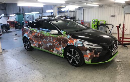 Digital Print Car