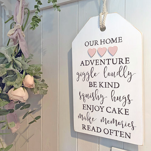 Home sign - meaning of home sign | home rules