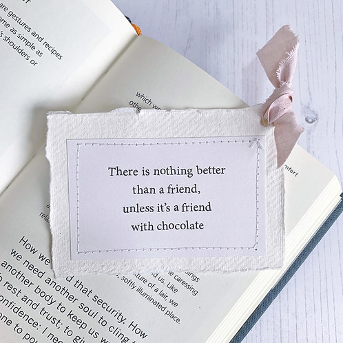 There is nothing better - friends quote keepsake