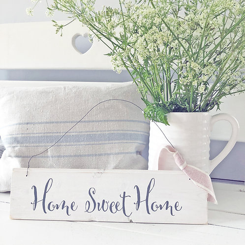 Hand painted wood sign - Home Sweet Home