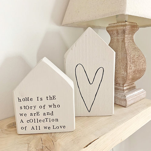 Home accessory - home phrase houses