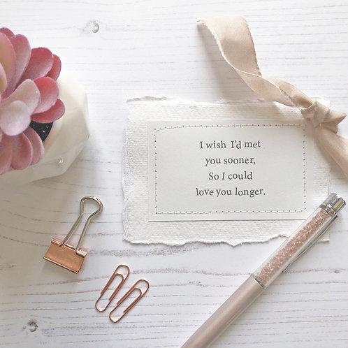 Anniversary | Wedding | Valentine's | Gift | Love token
