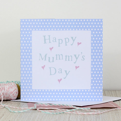 Mother's day card - Happy Mummy's Day