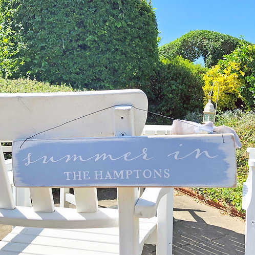 Home accessory - Summer in the Hamptons | Hanging sign