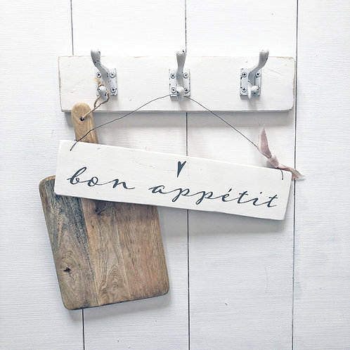 Home accessory - bon appétit | Hanging kitchen sign
