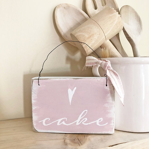 Home accessory - cake kitchen sign