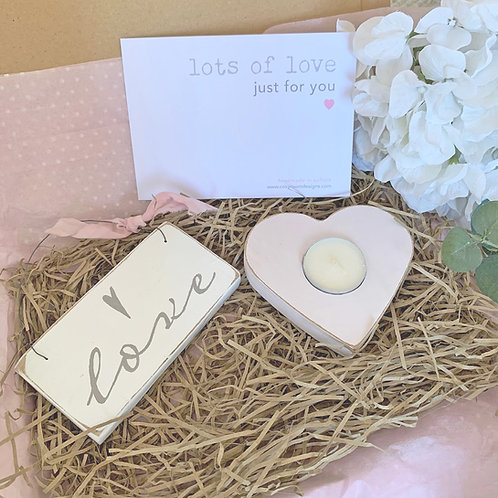 Letterbox gift - Lots of love just for you