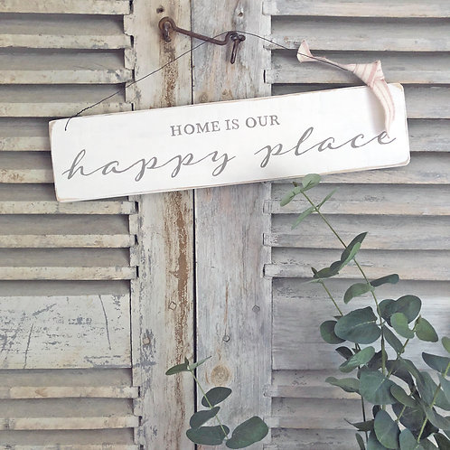 Home accessory - Home is our happy place sign
