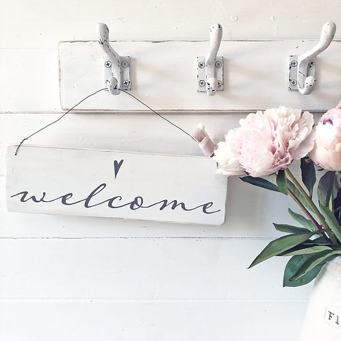 Home accessory - Welcome sign