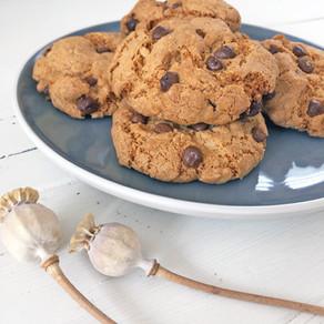 Five minute tea break - Chocolate Chip Cookies (GF)