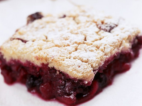 Apple & Mixed Berry Crumble
