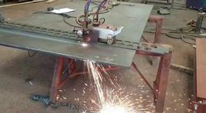 Steel cutting track