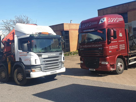 Our Scania and DAF lorries