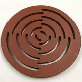 Waterjet cut replacement manhole cover