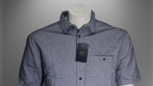 Half semi-formal shirt