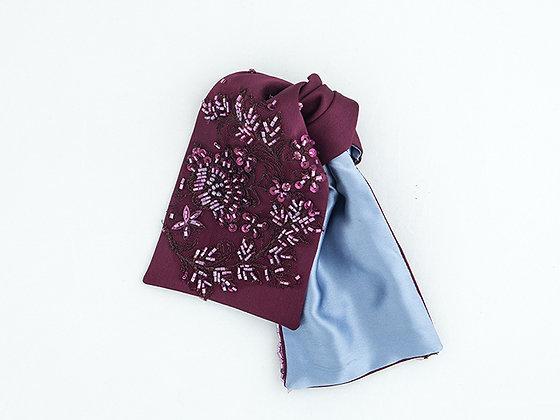Брошь текстильная