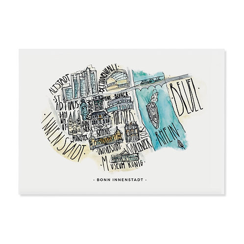 """Postkarte """"Bonn"""""""