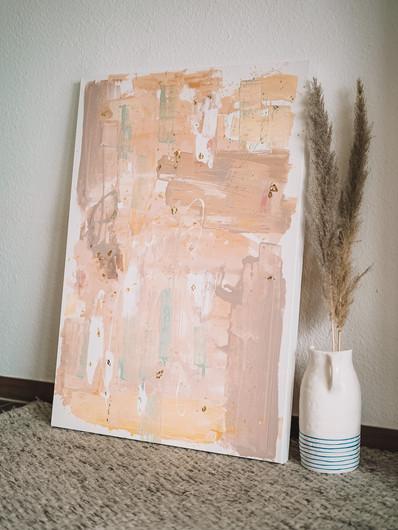 sandstorm · abstraktes Gemälde