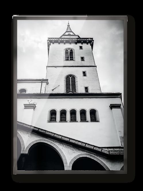 """Poster """"Siegburg Michaelsberg"""""""