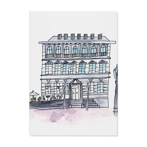 "Postkarte ""Siegburger Museum"""