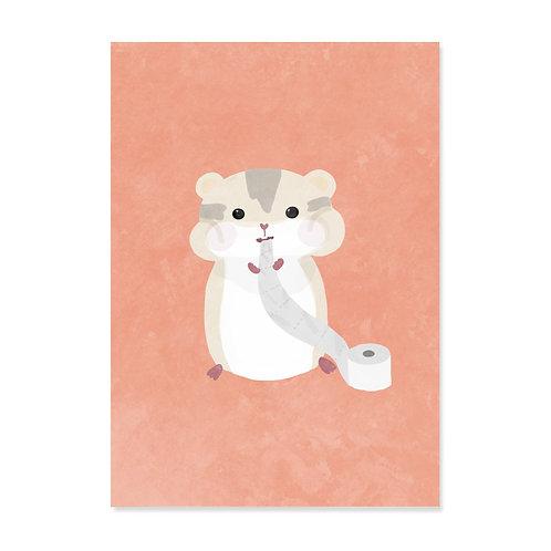 "Postkarte ""Hamster(n)"""
