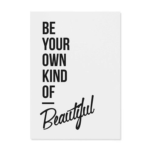 "Postkarte ""Beautiful"""
