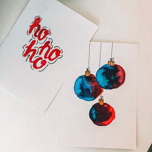 Weihnachtspostkarten-Set 1 A6