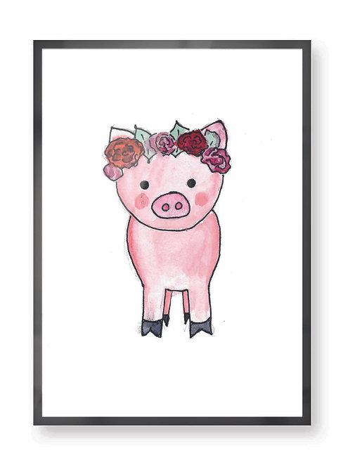 """Poster """"Schweinchen"""""""