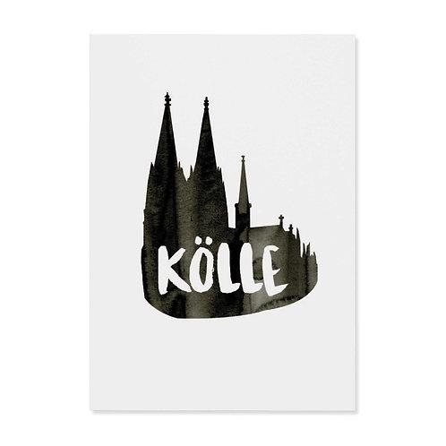 "copy of Postkarte ""Kölle"""