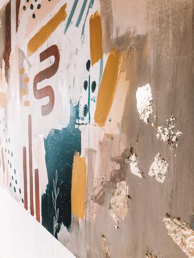 Summer in Siena · abstraktes Gemälde