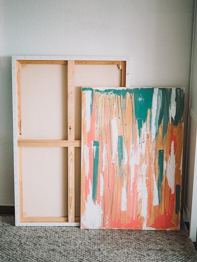 Middle Ground · abstraktes Gemälde