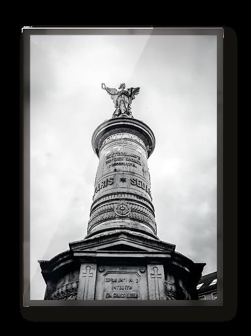 """Poster """"Siegburg Denkmal"""""""
