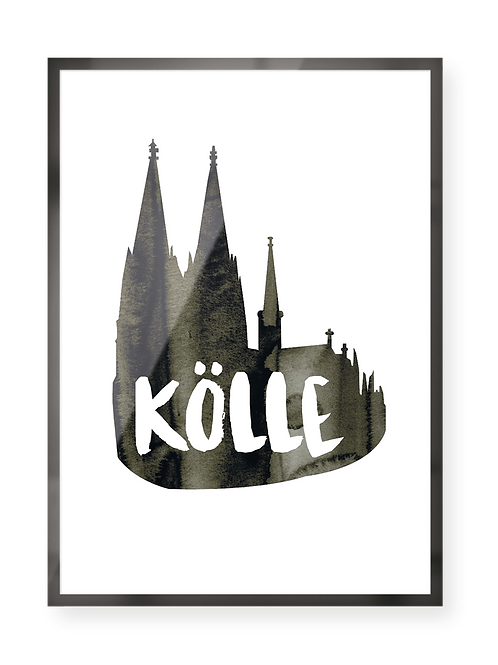 "Poster ""Kölle"""