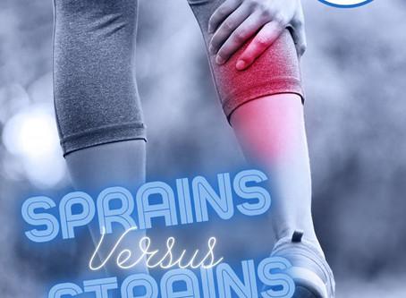 Strains Versus Sprains