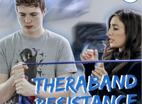 Therabands To Strengthen Muscles