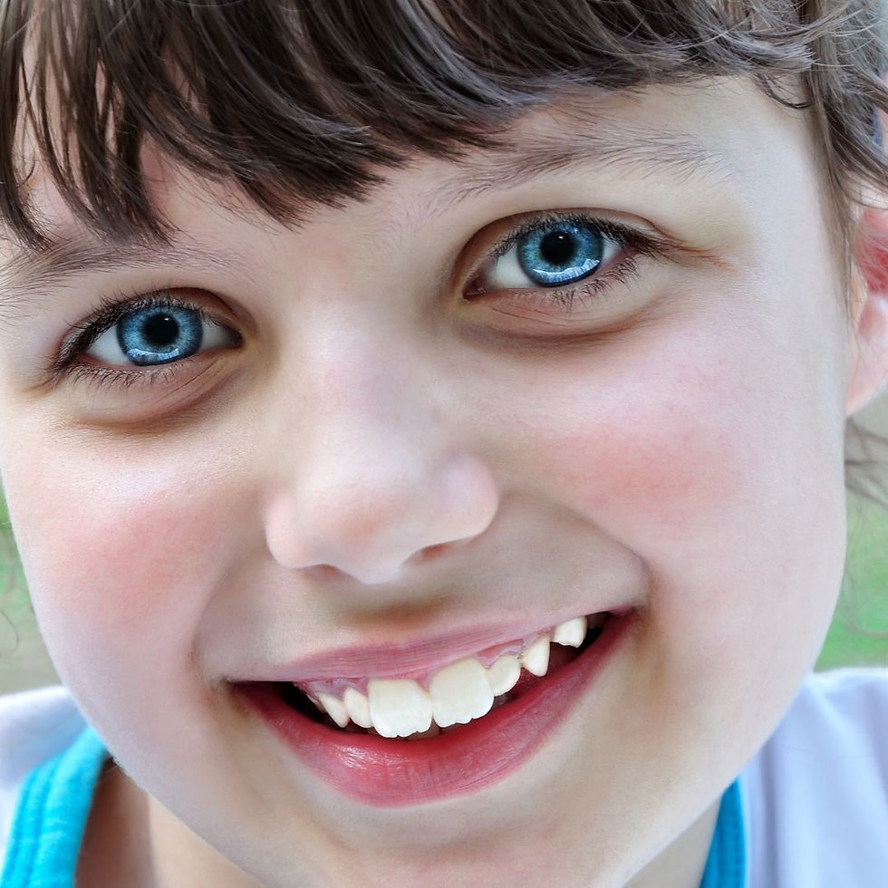 Braces on a child located in Rochester NY