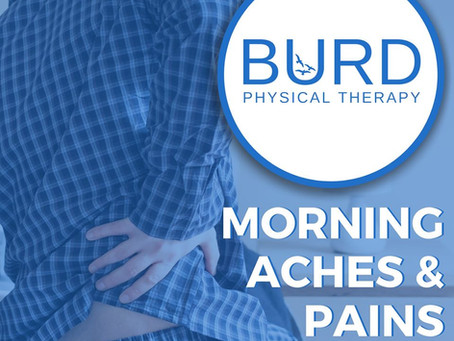 Morning Aches & Pains!!