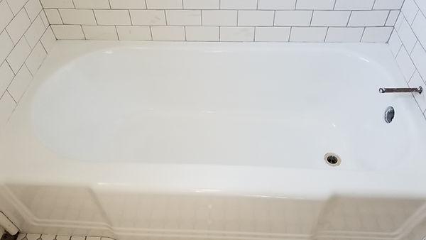Refinished tub
