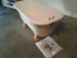 Refinished Clawfoot Tub