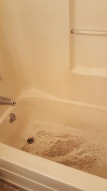 Dirty Fiberglass Shower